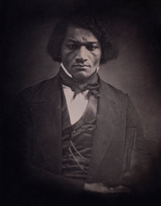 Photograph of Frederick Douglass.