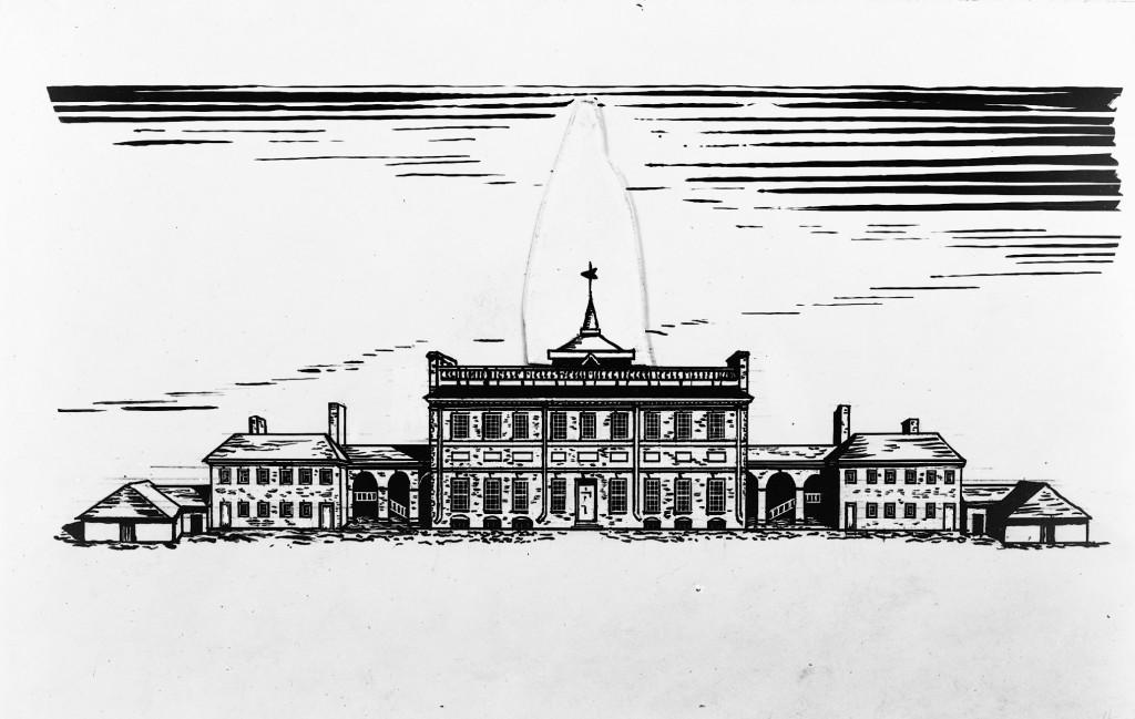 13 - State House c.1781 neg 1104