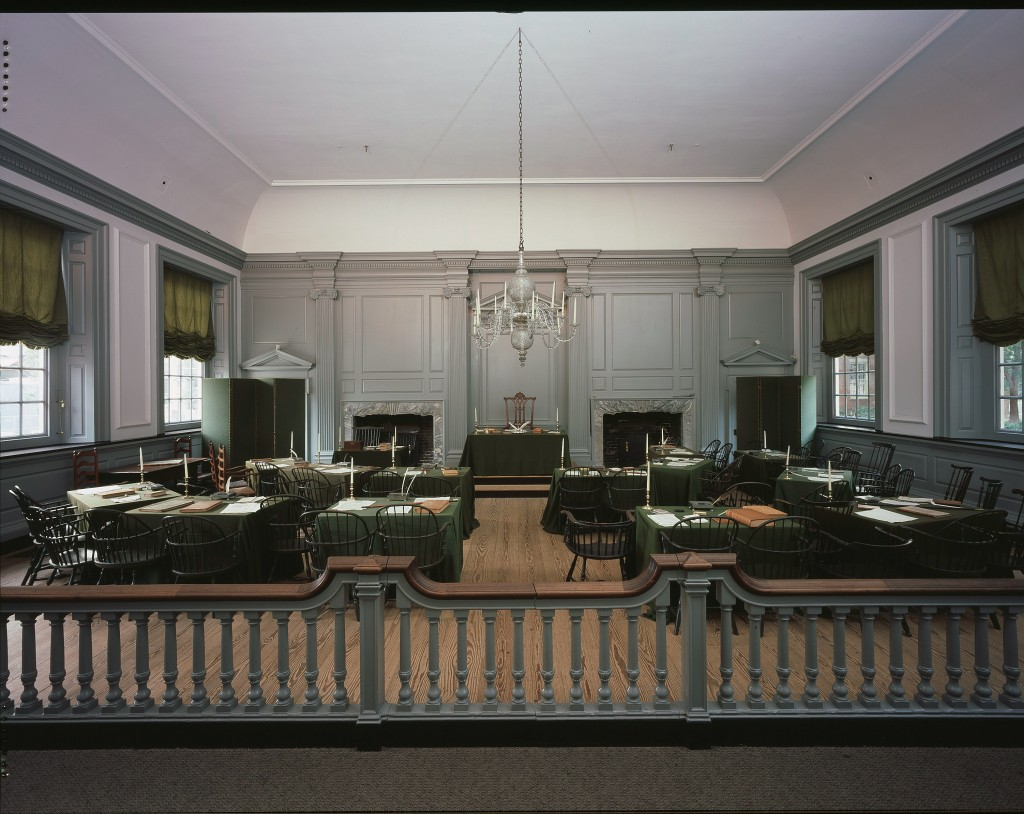 Assembly Room.  Photograph by Robin Miller, 2001 8x10
